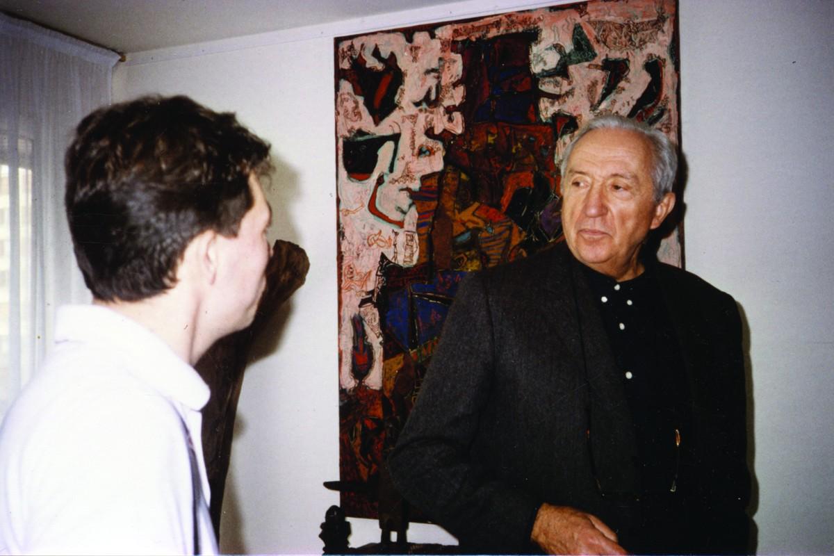 1991 Pierre Soulages dans mon atelier 2