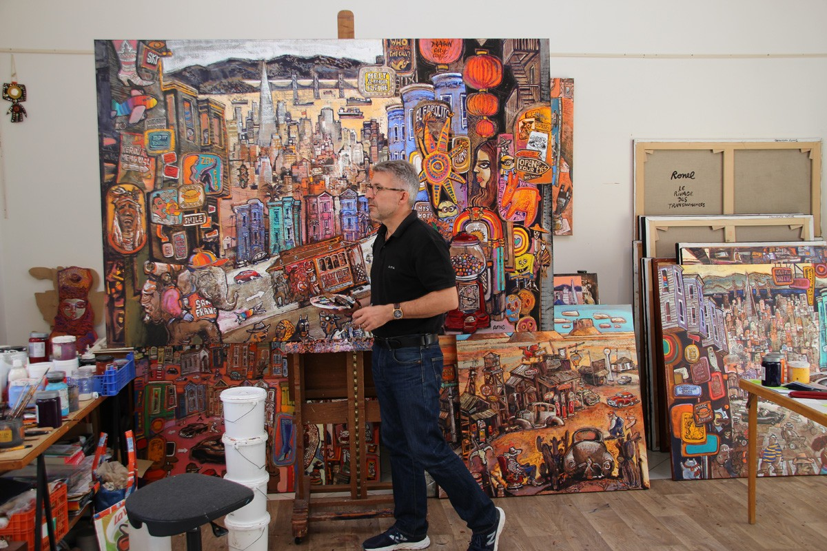 L'atelier de Christophe Ronel