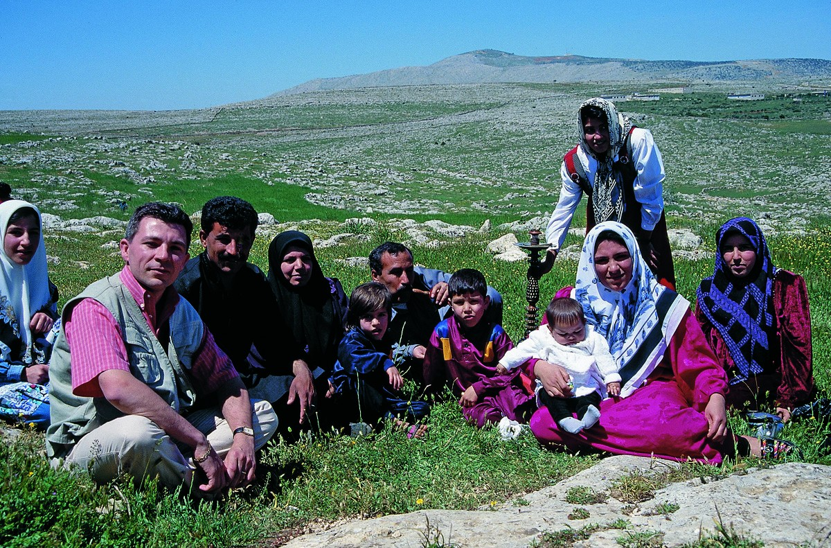 Famille kurde, Syrie - 1999